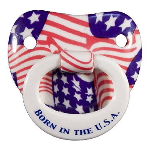 Bottles, Cups & Pacifiers - Original Usa Billy Bob American Pride Pacifier 90064