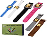 51AOw0ODKQL. SL160  Bundle Monster 6pc Interchangeable Watchband Straps Accessory Set for Apple iPod Nano Latest 6th Generation