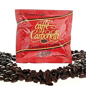 Shop for Coffee Pods ESE Ristretto Italian Espresso (100 pods) - Carbonelli