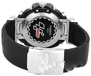 Reloj para caballero Tissot de Acero Inoxidable T-Race Moto T0274171705100  Negro