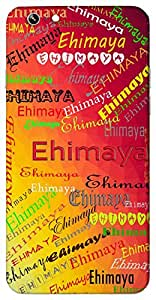 Ehimaya (Popular Girl Name) Name & Sign Printed All over customize & Personalized!! Protective back cover for your Smart Phone : Samsung Galaxy A-3