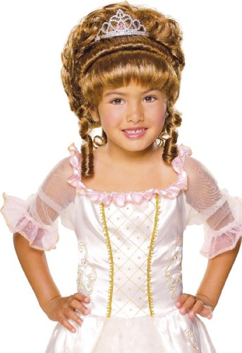 Child Charming Princess Brown Wig