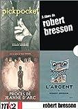 echange, troc Coffret Bresson 4 DVD : Le Procès de Jeanne d'Arc / L'Argent / Pickpocket