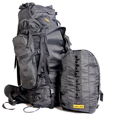 Rexler Polyester Black Unisex Rucksack Bagpack