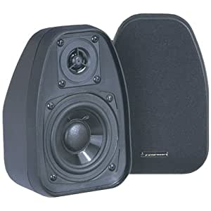 "BIC VENTURI DV32-B 3.5"" Bookshelf Speakers (Black) (DV32-B)"