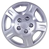 "Drive Accessories KT-942-14S/L, Nissan Altima, 14"" Silver Lacquer Replica Wheel Cover, Pack of 4"