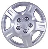 51AP4T4M53L. SL160  Drive Accessories KT942 15SL 15 Inch Plastic Wheel Cover, Silver Lacquer (Alloy Color)