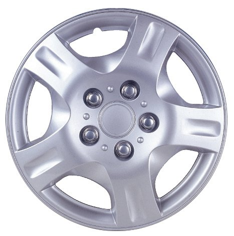 Drive Accessories KT942-15SL 15-Inch Plastic Wheel Cover, Silver Lacquer (Alloy Color)