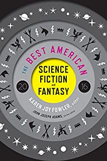 Book Cover: The Best American Science Fiction and Fantasy 2016