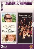 echange, troc Coffret Amour & Humour 2 DVD : Tout peut arriver / Embrassez qui vous voudrez