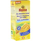 Holle Organic Snacks - Spelt Baby Biscuits - Single Pack, 150g