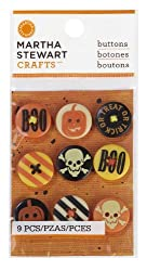 Martha Stewart Crafts Classic Halloween Buttons
