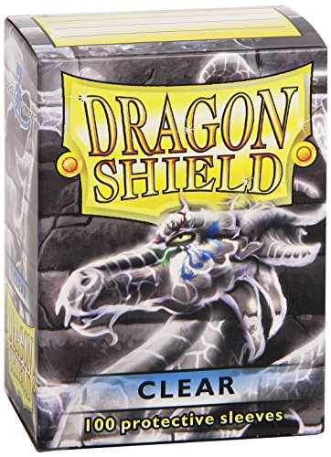 Dragon Shields Protective Sleeves (100-Pack), Clear