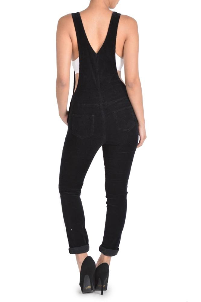 G-Style USA Women's Corduroy Overalls 2