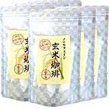 【国産 無添加 100%】玄米珈琲 スティック 2g×12本×6袋 特A北海道産ななつぼし ノンカフェイン