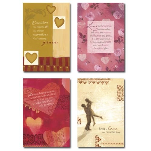 12 Anniversary cards with Scripture - True Love (5094-2)