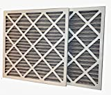 20x22x1 Activated Carbon Odor Removal MERV 11 Pleated Air Filter (6-Pack)