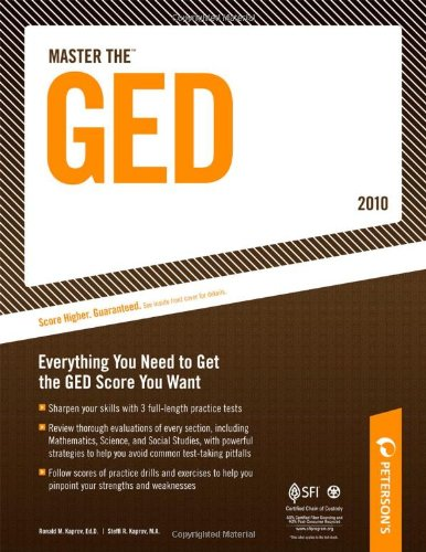 Master the GED 2010 (Peterson's Master the GED)