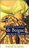 echange, troc Louise-Eléonore-Charlotte-Adélaïde d'Osmond, comtesse de Boigne, Jean-Claude Berchet - Mémoires de la comtesse de Boigne, née d'Osmond