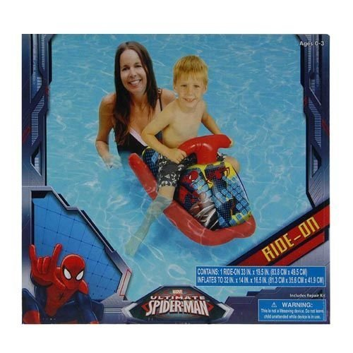 Marvel Ultimate Spider-man Inflatable Ride-On - 1