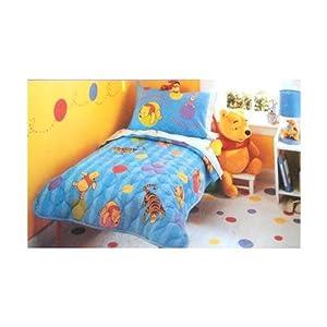 Amazon.com : Winnie the Pooh Toddler Bedding Set 4 pieces ...
