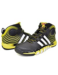 adidas Men's D-Howard 4 Mid Basketball Shoes - Size: 10, Black1/run