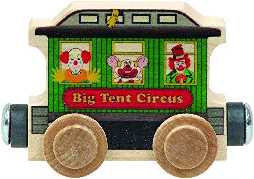 NameTrain Circus Wagon