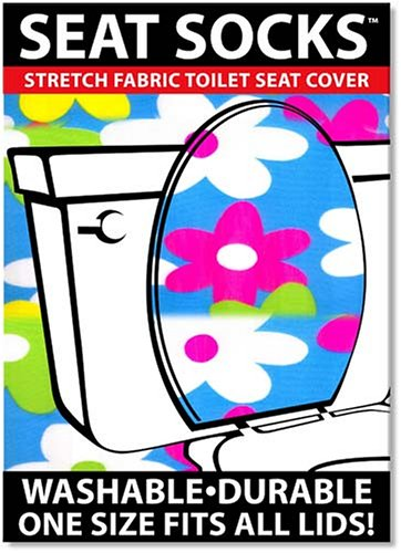 Toilet Lid And Tank Covers Cornflower Power Seat Socks