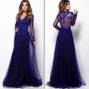Evening Gowns Vestidos De Festa Vestido Longo 14w : Sports & Outdoors