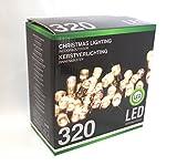 Led Lichterkette 320 Leds warmweiß für innen und außen...