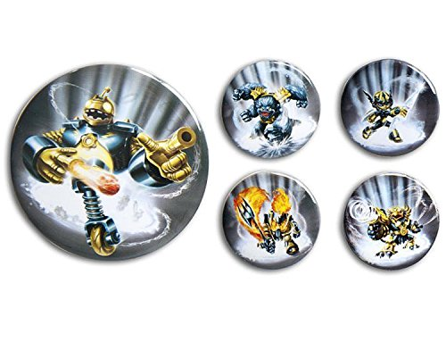 Legendary Skylanders Giants Button Set by Activision