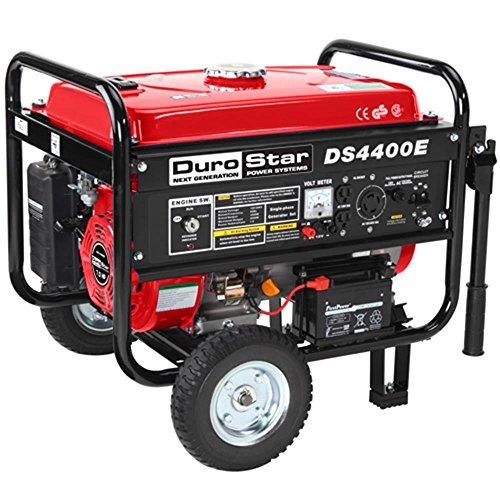 Generators DuroStar 4400 Watt Quiet Portable Electric Start RV Gas Power Generator DS4400E (Whole House Solar Generator compare prices)