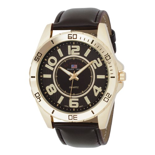 U.S. Polo Assn. Classic Men's US5160 Brown Dial