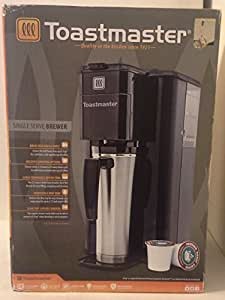 Toastmaster Coffee Maker Parts : Amazon.com: Toastmaster K-cup Single Serve Brewer Model Tm-100cm: Kitchen & Dining