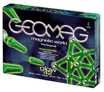 Geomag - 642 - Jeux de Construction - Glow in the Dark - Phosphorescent - 42 pièces
