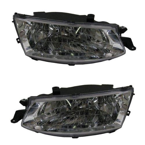 toyota solara headlights headlamps head lights lamps pair set kmoanoenoaaaa