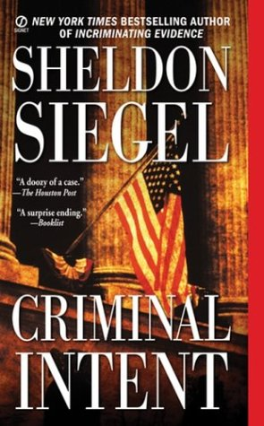 Criminal Intent, SHELDON SIEGEL