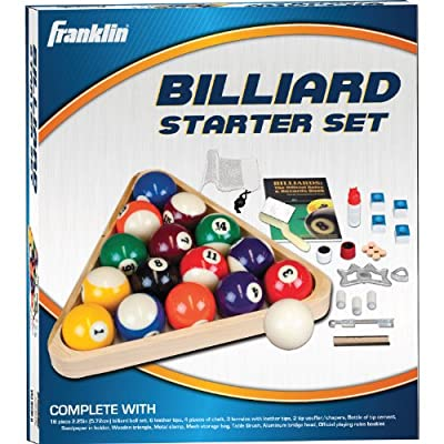 Franklin Sports Billiards Deluxe Starter Kit (Multi-color)