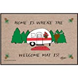 High Cotton Outdoor Mat, Home is Where