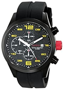 "red line Men's 50042-BB-01YL ""Stealth"" Watch"