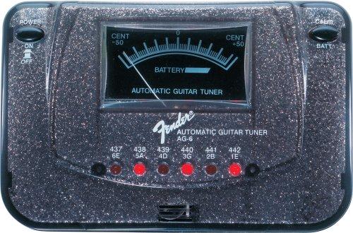 Fender Ag6 Tuner, Black Sparkle