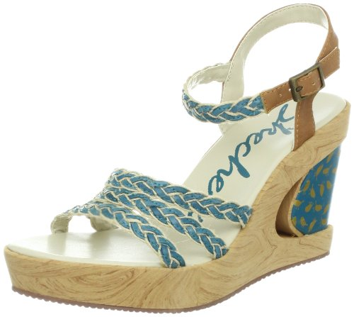 Skechers Peek A Boo Clogs And Mules Womens Blue Blau (BLU) Size: 7 (41 EU)