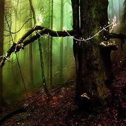 GladsBuy Fairy Forest 10\' x 10\' Digital Printing Photography Backdrop Halloween Theme Anti-UV Studio Background YHA-295
