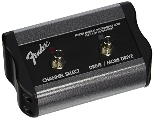 Fender 2-Button 3-Function Footswitch: Channel/Gain/More Gain with 1/4-Inch Jack (Fender Hot Rod Deluxe Footswitch compare prices)