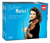 echange, troc  - Sublime Mutter : Concertos pour violon de Bach, Vivaldi, Mozart, Lalo, Sarasate..