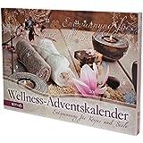 """Wellness-Adventskalender """"Entspannung für Körper & Seele"""", 24 Wellnessartikel, Größe: 50x35x4 cm"""