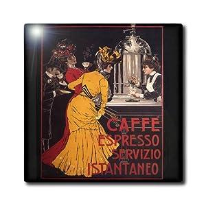 Amazon.com: 3dRose ct_163744_4 Image of Muchas Art Nouveau Coffee Ad