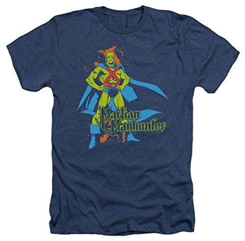 Martian Manhunter Logo Heather T-Shirt
