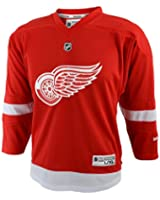 NHL Reebok Detroit Red Wings Youth Replica Jersey - Red