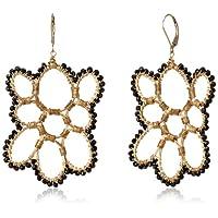 [アマンダ・ステレット] AMANDA STERETT 天然石ブラックスピネル フックピアス F10913 Earrings